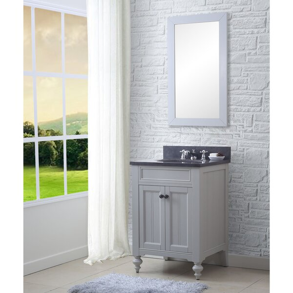 Cabery 24 Single Bathroom Vanity Set with Mirror by Darby Home Co