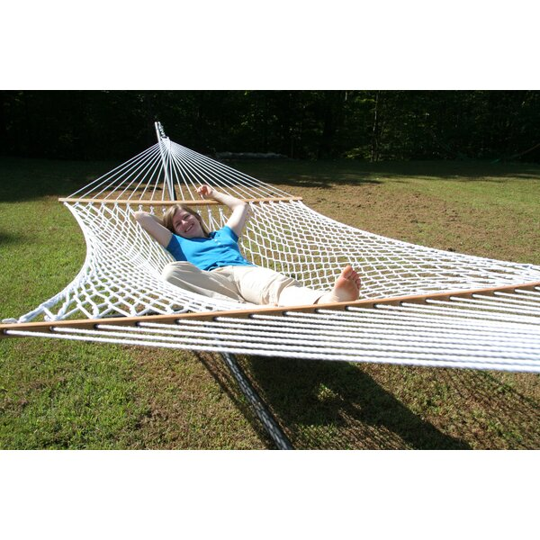 Green Living Envirope Polyester Hammock by Twin Oaks Hammocks