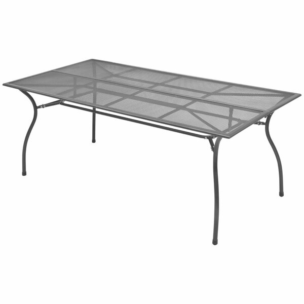 Remmy Steel Dining Table by Winston Porter