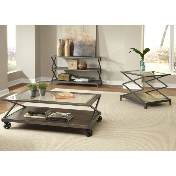 Adelle 3 Piece Coffee Table Set by 17 Stories