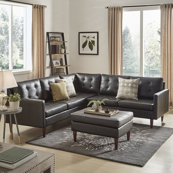Atlas Reversible Modular Sectional With Ottoman By Kingstown Home