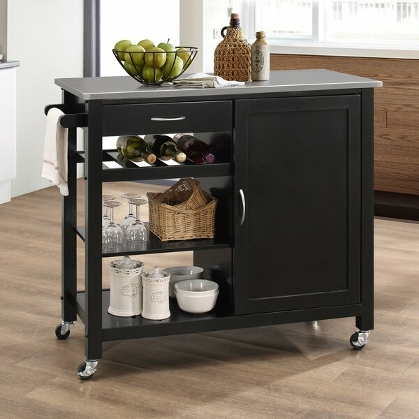 Chancey Kitchen Cart by Ebern Designs