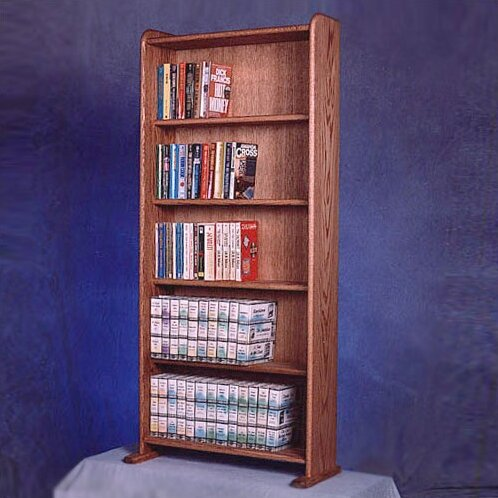 200 DVD Multimedia Storage Rack By Rebrilliant