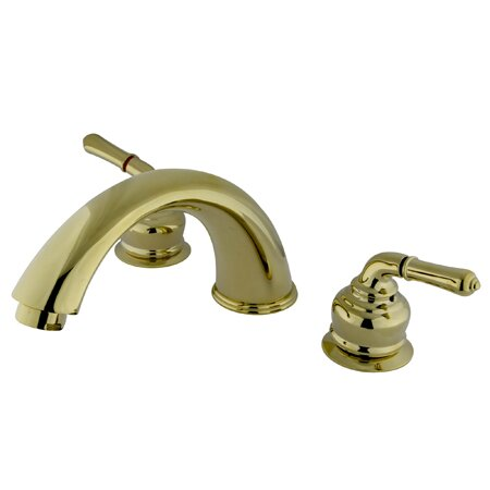 Magellan Two Handle Roman Tub Faucet by Kingston Brass