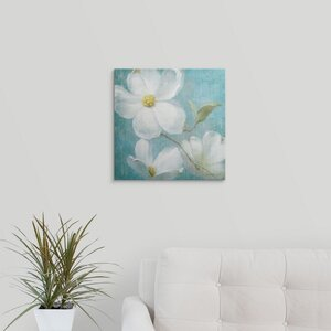 Indiness Blossom Square Vintage IV by Danhui Nai Painting Print on Wrapped Canvas by Great Big Canvas