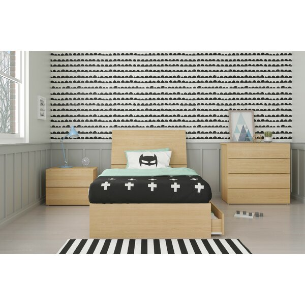 Lawrenceville Twin Platform 4 Piece Bedroom Set by Ebern Designs