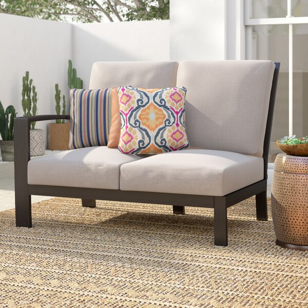 Jay Loveseat with Cushions by Mistana