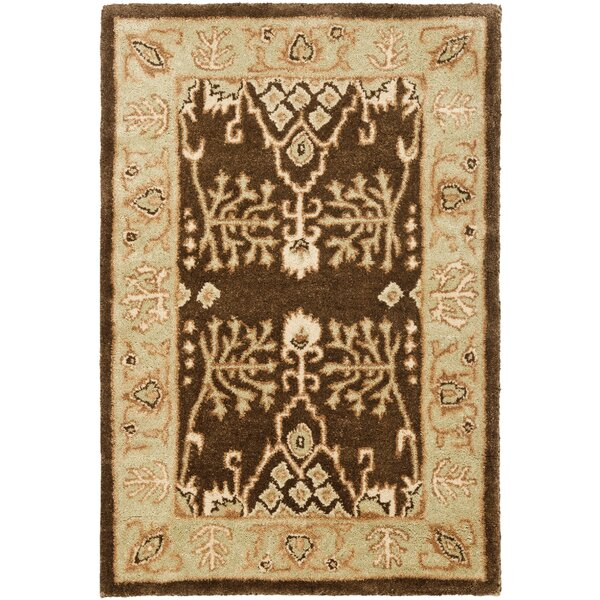 Bergama Brown/Green Area Rug by Safavieh