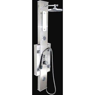Bathroom Shower Tower Mage Multi Jets Spa System Panel Diverter