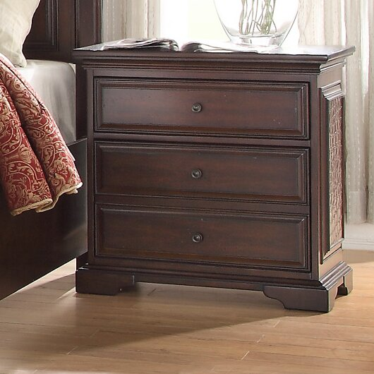 Plumcreek 3 Drawer Nightstand by Darby Home Co