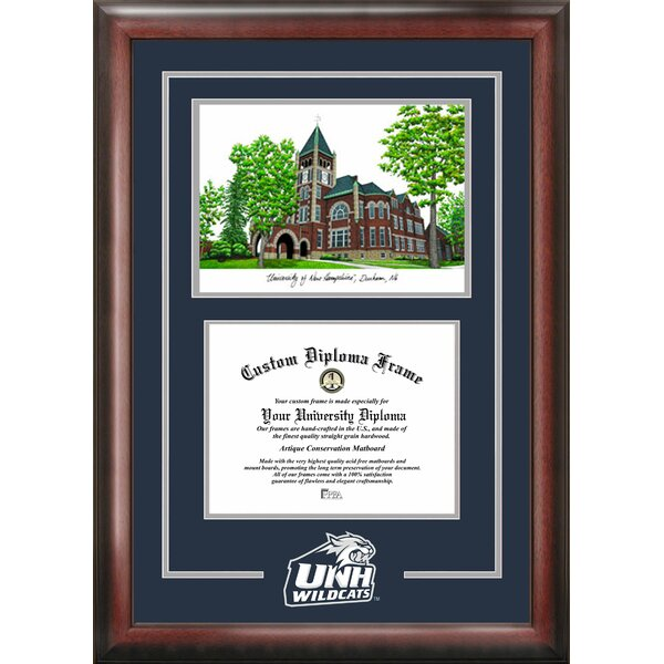 NCAA Spirit Graduate with Campus Image Picture Frame by Campus Images