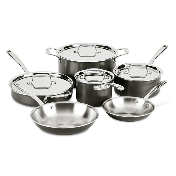 LTD 10-Piece Cookware Set by All-Clad