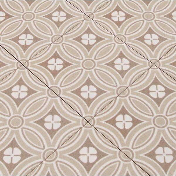 Kenzzi Dekora 5.2 x 5.2 Ceramic in Beige by MSI