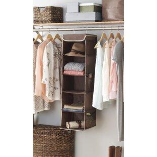 5 Compartment Hanging Organizer Rebrilliant