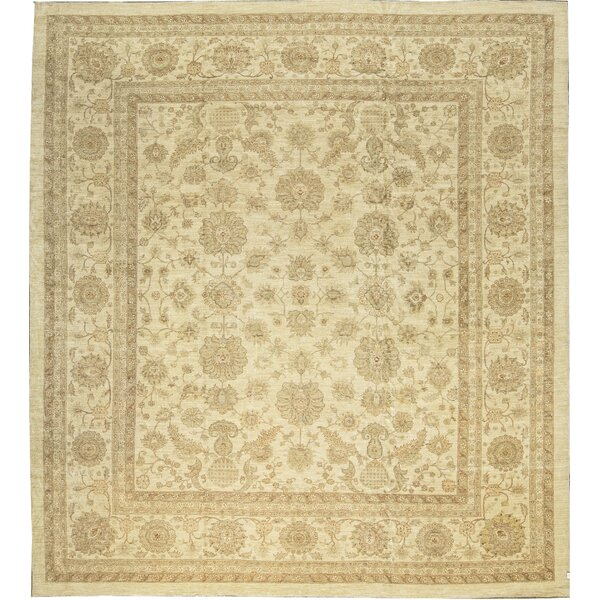 One-of-a-Kind Sultanabad Ancient Hand-Knotted Wool Cream Area Rug by Bokara Rug Co., Inc.