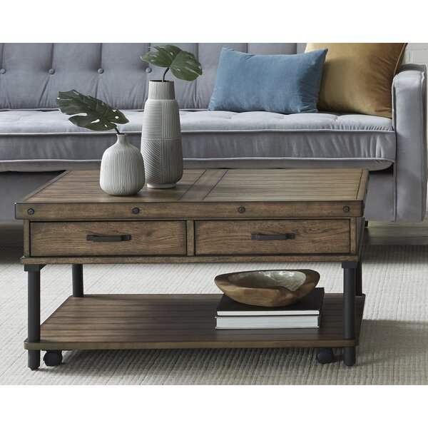 Romo Coffee Table with Storage by 17 Stories