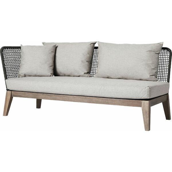 Netta Patio Sofa with Cushion by Modloft Modloft