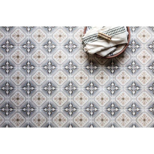 Design Evo 8 x 8 Porcelain Field Tile in Gray/Beige by Travis Tile Sales