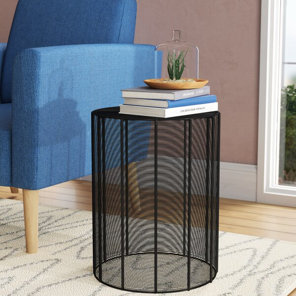 Adeliza End Table by Wrought Studio