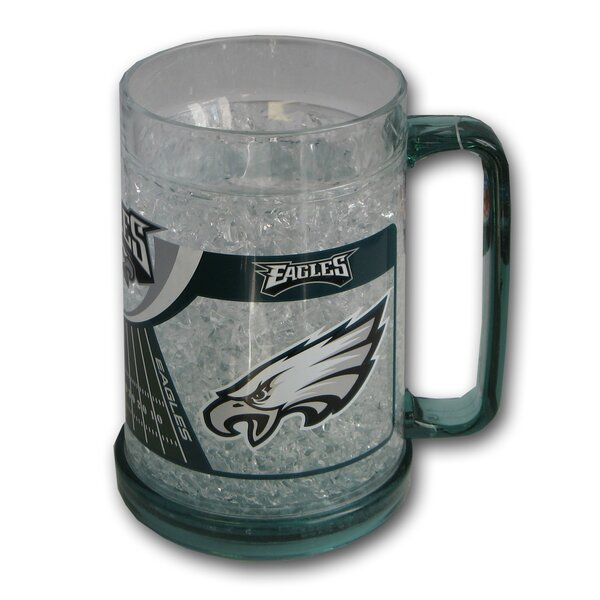 NFL Beer Glass 16 oz. Crystal by DuckHouse