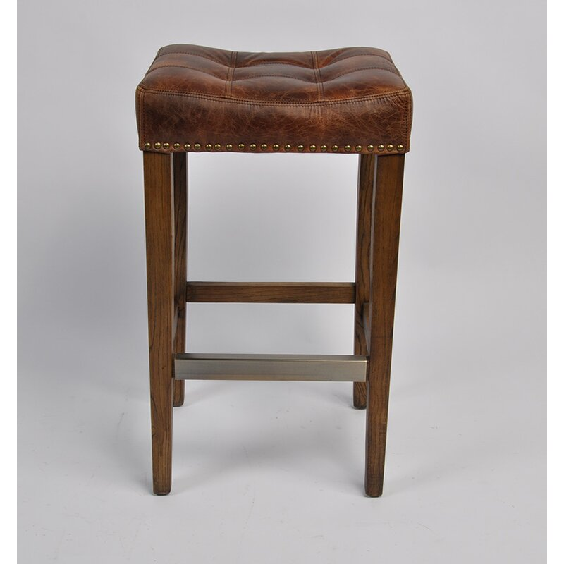 Brown 26'' Bar Stool (Part Number: C2 A 004 C26) by C2 A Designs