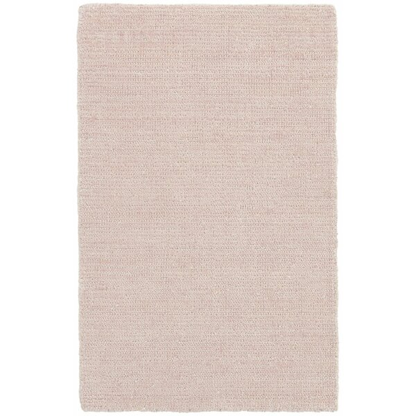 Quartz Hand-Woven Pink Indoor/Outdoor Area Rug by Dash and Albert Rugs