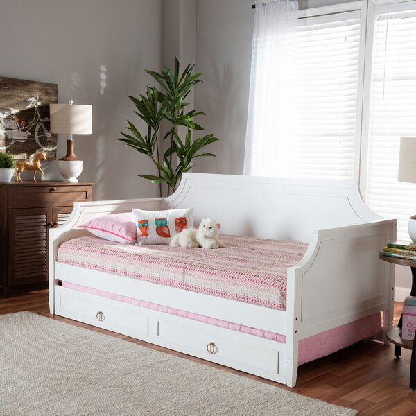Camilo Twin Daybed With Trundle By Alcott Hill