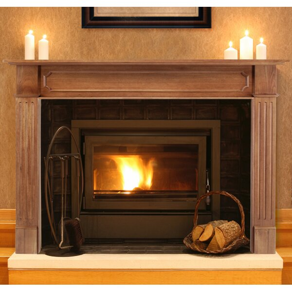 The Alamo Fireplace Mantel Surround by Pearl Mantels