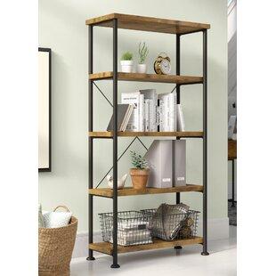 Inexpensive Epineux Etagere Bookcase ByLaurel Foundry Modern Farmhouse