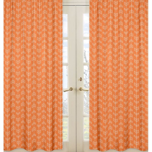 Arrow Curtain Panels (Set of 2) by Sweet Jojo Designs