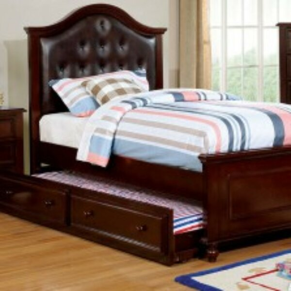 Loveland Full/Double Upholstered Platform Bed by Harriet Bee