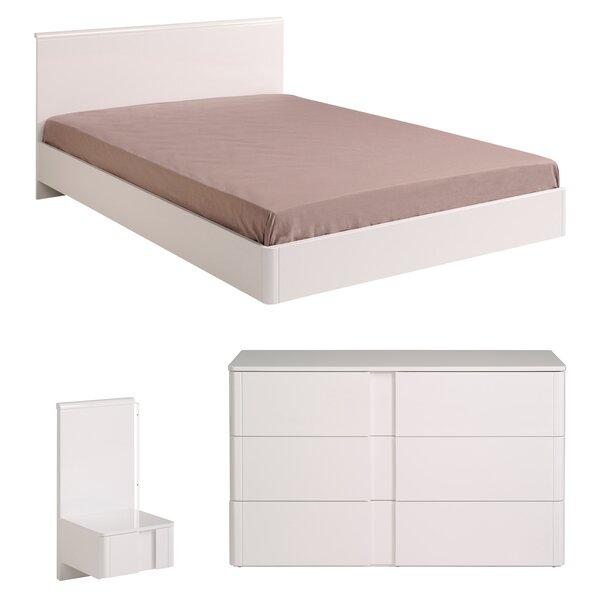 Wesley Platform Configurable Bedroom Set by Parisot