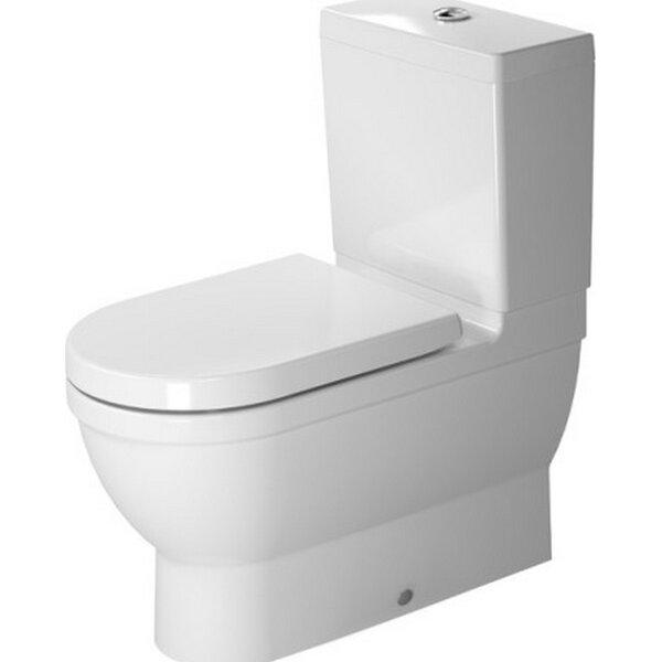 Starck 1.28 Elongated Toilet  (Seat Not Included) by Duravit