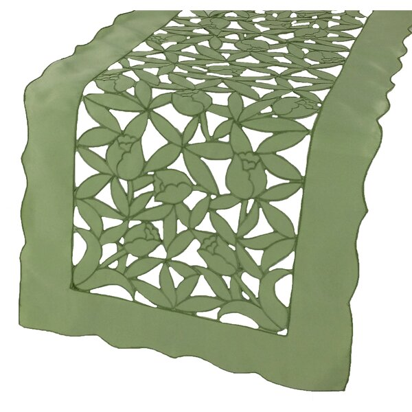 Tulip Bouquet Table Runner by Xia Home Fashions