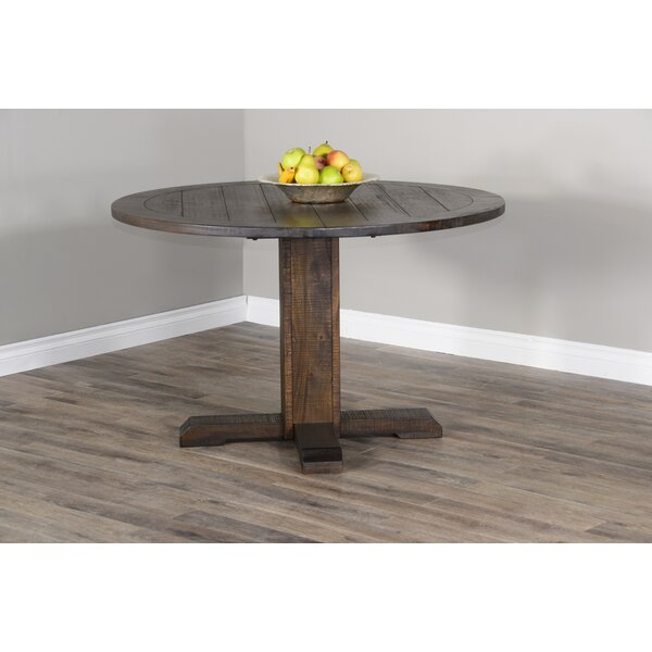 Calina Solid Wood Dining Table by Gracie Oaks Gracie Oaks