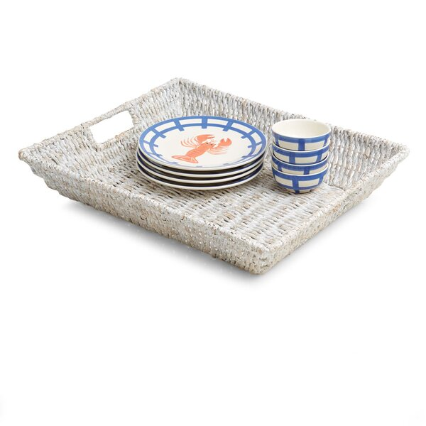 Luz Large Oval Serving Tray by Mistana