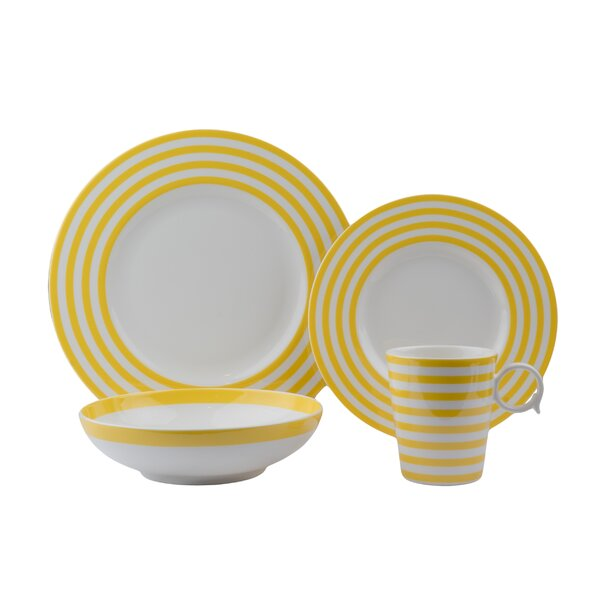 Freshness 4 Piece Place Setting, Service for 1 by Red Vanilla