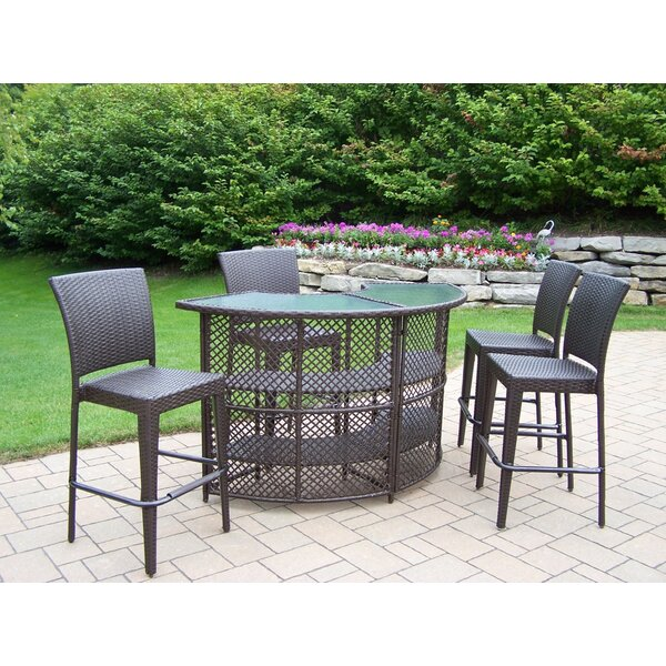 Wideman 5 Piece Bar Height Dining Set by Darby Home Co