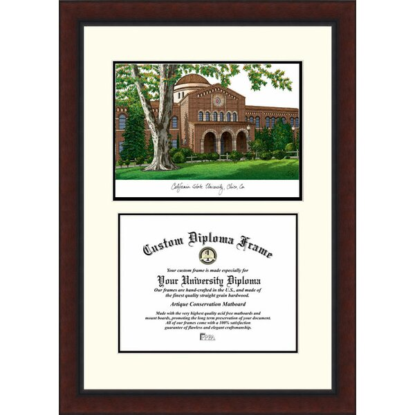 NCAA California State University, Chico Legacy Scholar Diploma Picture Frame by Campus Images