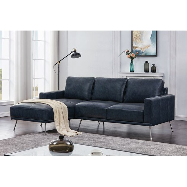 Johnone Left Hand Facing Modular Sectional By 17 Stories