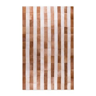 Affordable Price Brown/White Safari Cowhide Area Rug By Natural Rugs