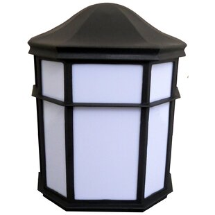Best Price Willowridge 1-Light Outdoor Flush Mount By Red Barrel Studio