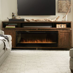Shop For BigSur TV Stand for TVs up to 78 with Fireplace By Hooker Furniture