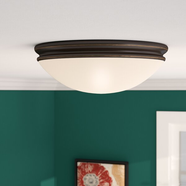 Metcalfe Flush Mount by Three Posts
