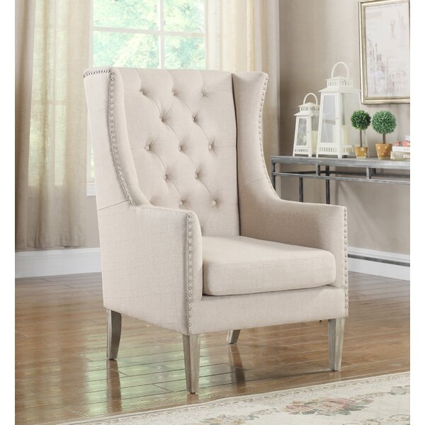Osterhout Wingback Chair by Alcott Hill Alcott Hill