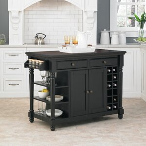 Kitchen Island With Pull Out Table New Kitchen Island Pull Out Table  Wayfair