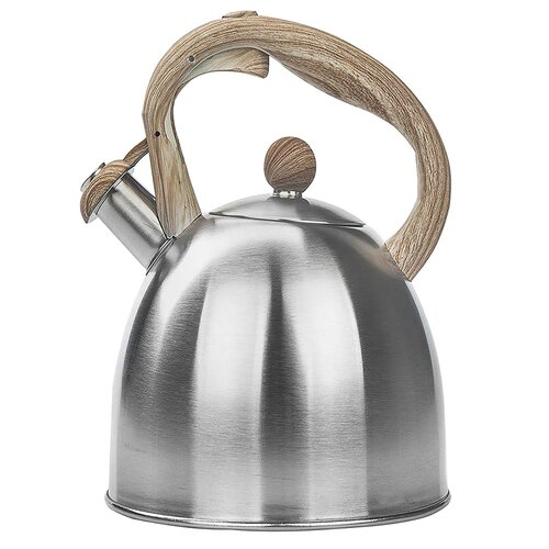 Martines 2.3L Stainless Steel Whistling Stovetop Kettle
