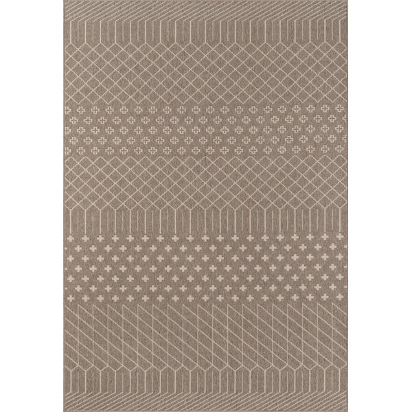 Blackmon Taupe Indoor/Outdoor Area Rug by Union Rustic