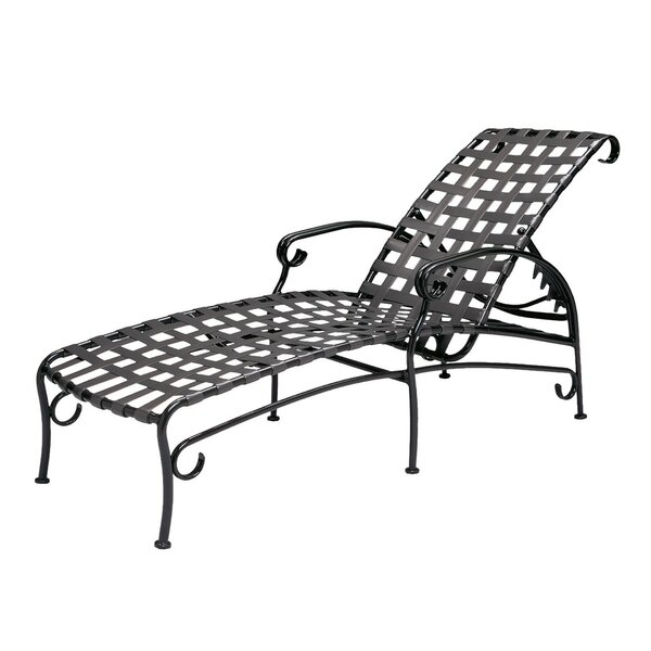 Ramsgate Adjustable Chaise Lounge by Woodard