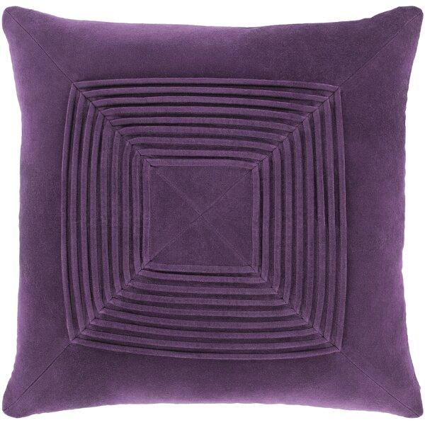 Wilfredo Textured Cotton Throw Pillow by Winston Porter